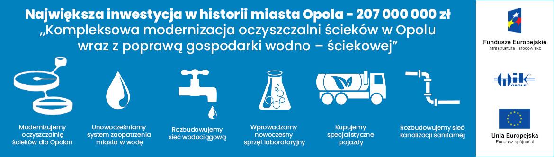 Modernizacja oczyszczalni ścieków w Opolu