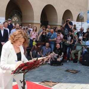 Galeria Odsłonięcie gwiazd Majki Jeżowskiej i Haliny Frąckowiak