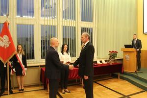 Galeria Pracownicy WiK Opole odznaczeni medalami za długoletnią służbę