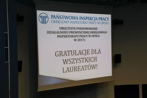 """Galeria WiK Opole zwycięzcą konkursu """"Pracodawca - Organizator Pracy Bezpiecznej"""" 2017"""