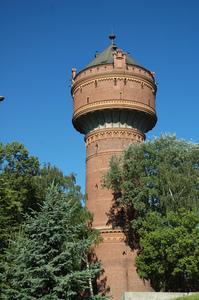Galeria Zabytkowa wieża ciśnień w Opolu