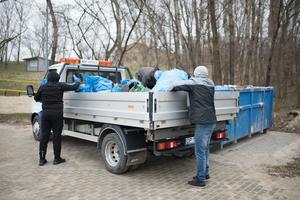 Galeria Sprzątanie kąpieliska Bolko
