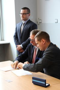 Galeria Podpisanie umowy z NFOŚiGW 032017